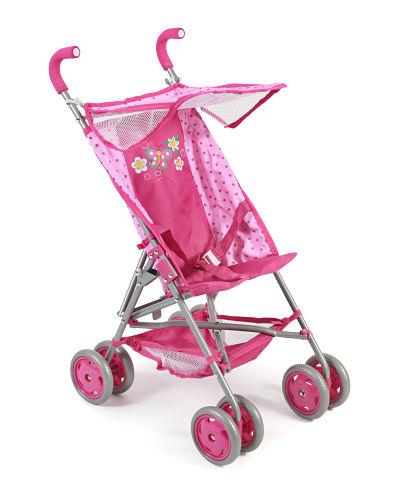 Poppenwagen Buggy Vita - Dots Pink