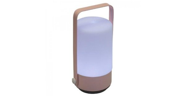 Orange85 Nachtlampje - Kinderkamer - Roze - LED - Kunststof - Wit - Losstaand - Hendel
