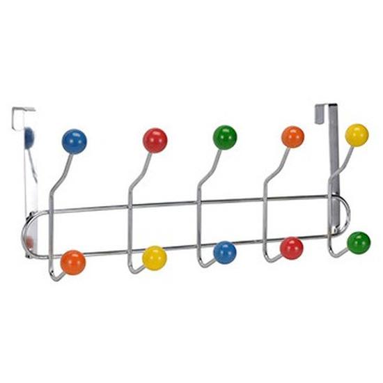 Gekleurde kinderkamer deurhanger kapstok 42 x 17,5 x 9,5 cm