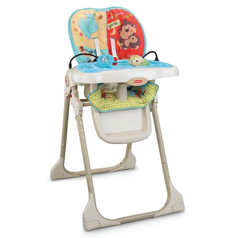Fisher Price Baby Zoo High Chair  Ebay