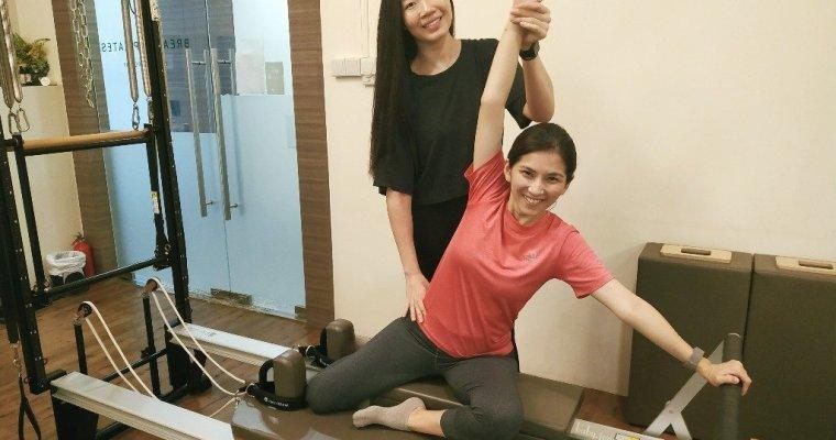 Prenatal Pilates at Breathe Pilates, Singapore