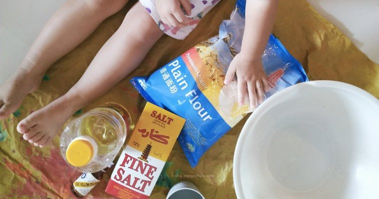 How to Make Play Dough with Flour
