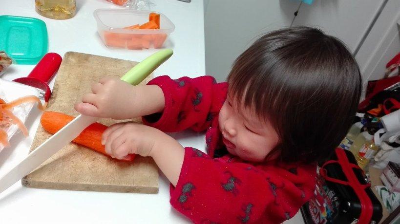 こゆたん2歳4ヶ月 料理2