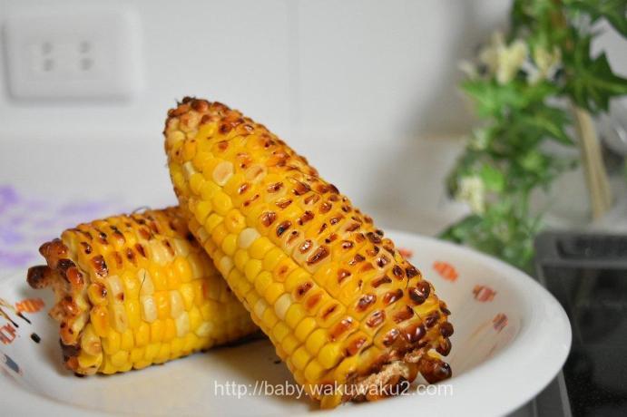 ヘルシオ 焼きトウモロコシ ウォーターオーブン ウォーターグリル