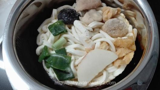 なべやき屋キンレイ おとり寄せコレクション 味噌煮込みうどん 作り方