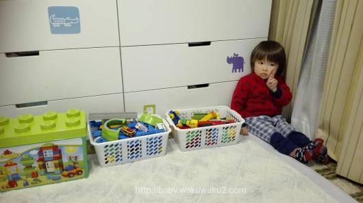 こゆたん3歳5ヶ月 子供の成長記録 お片づけ