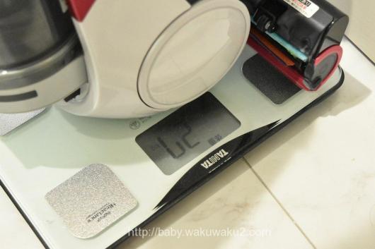 『世界最軽量』コードレスキャニスター掃除機 EC-AS500 SHARP 比較