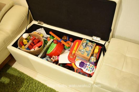 収納 おもちゃ スツール ソファ ベンチ おもちゃ箱
