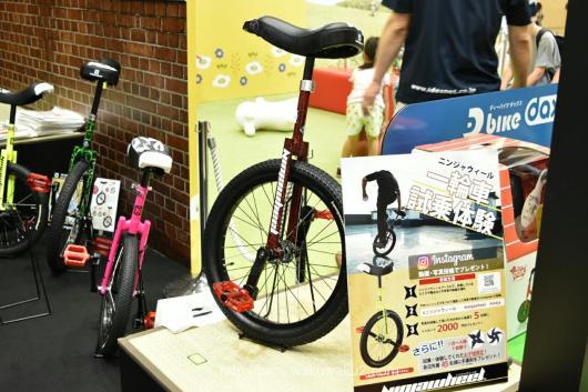 東京おもちゃショー2018 ブログ 会場レポート お土産 おもちゃショー 無料 アイデス 一輪車 新発売 NINJA