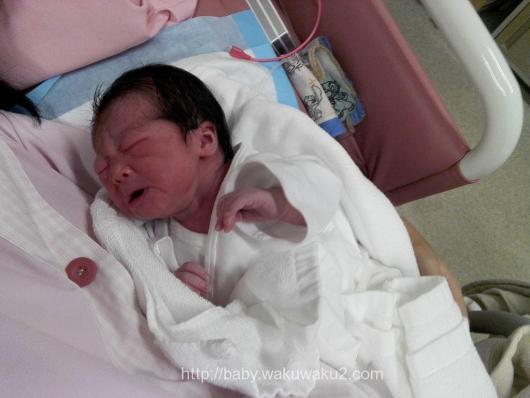 陣痛促進剤 出産レポート 計画無痛分娩 新生児 出生直後のこえちゃん