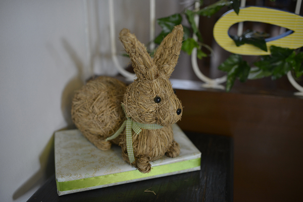 Nutbrown Hare Cake Topper