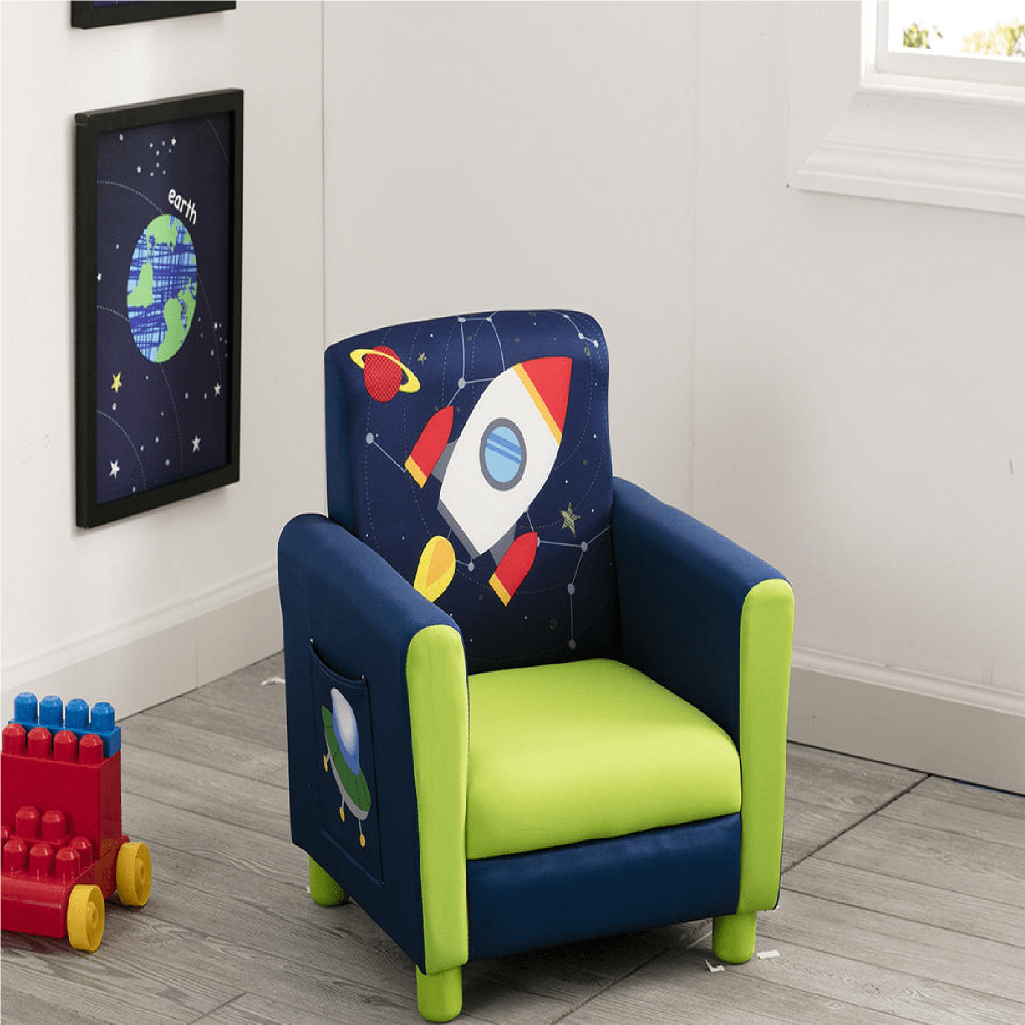 Delta Children Chair Delta Children Astronaut Upholstered Chair