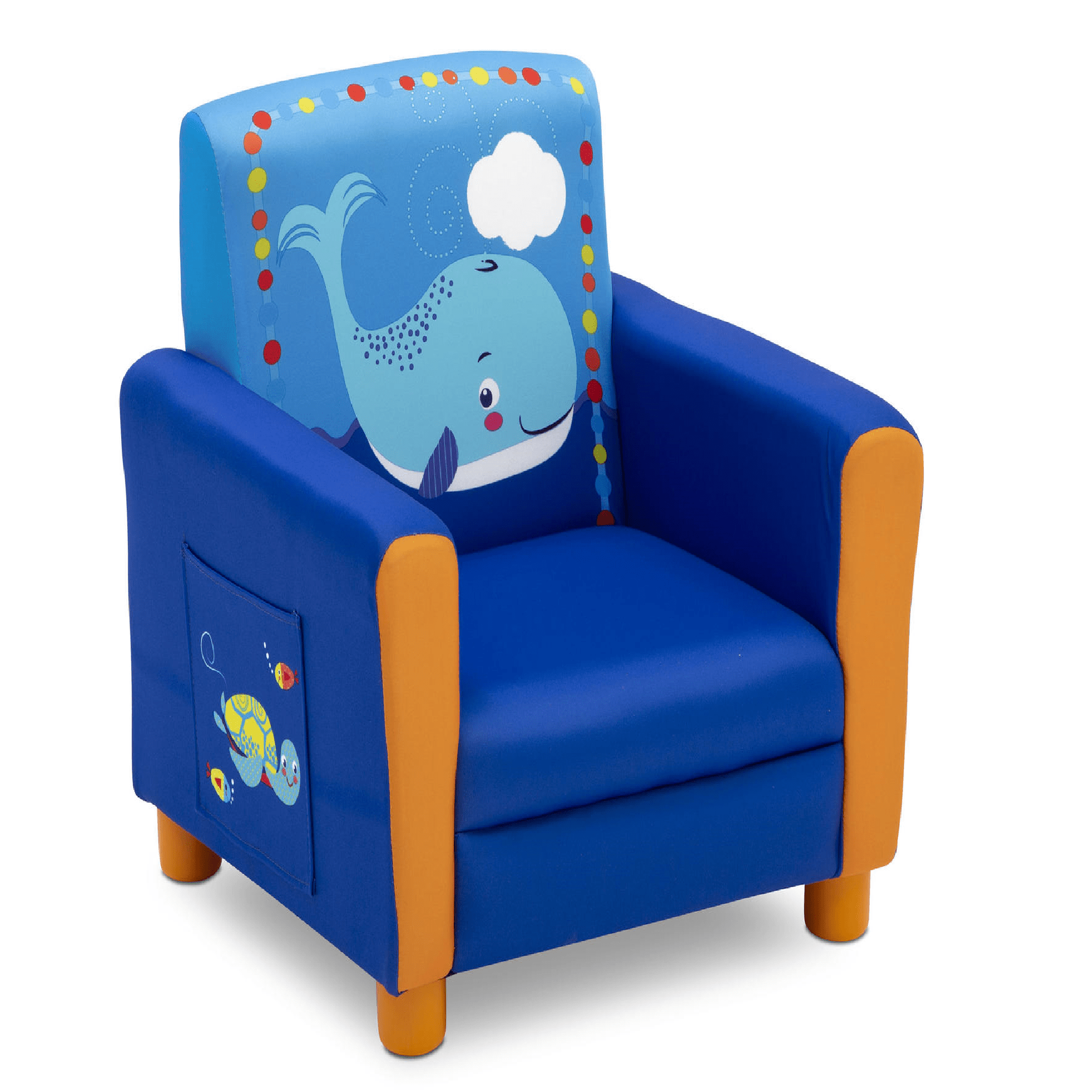 Delta Children Chair Delta Children Ocean Upholstered Chair