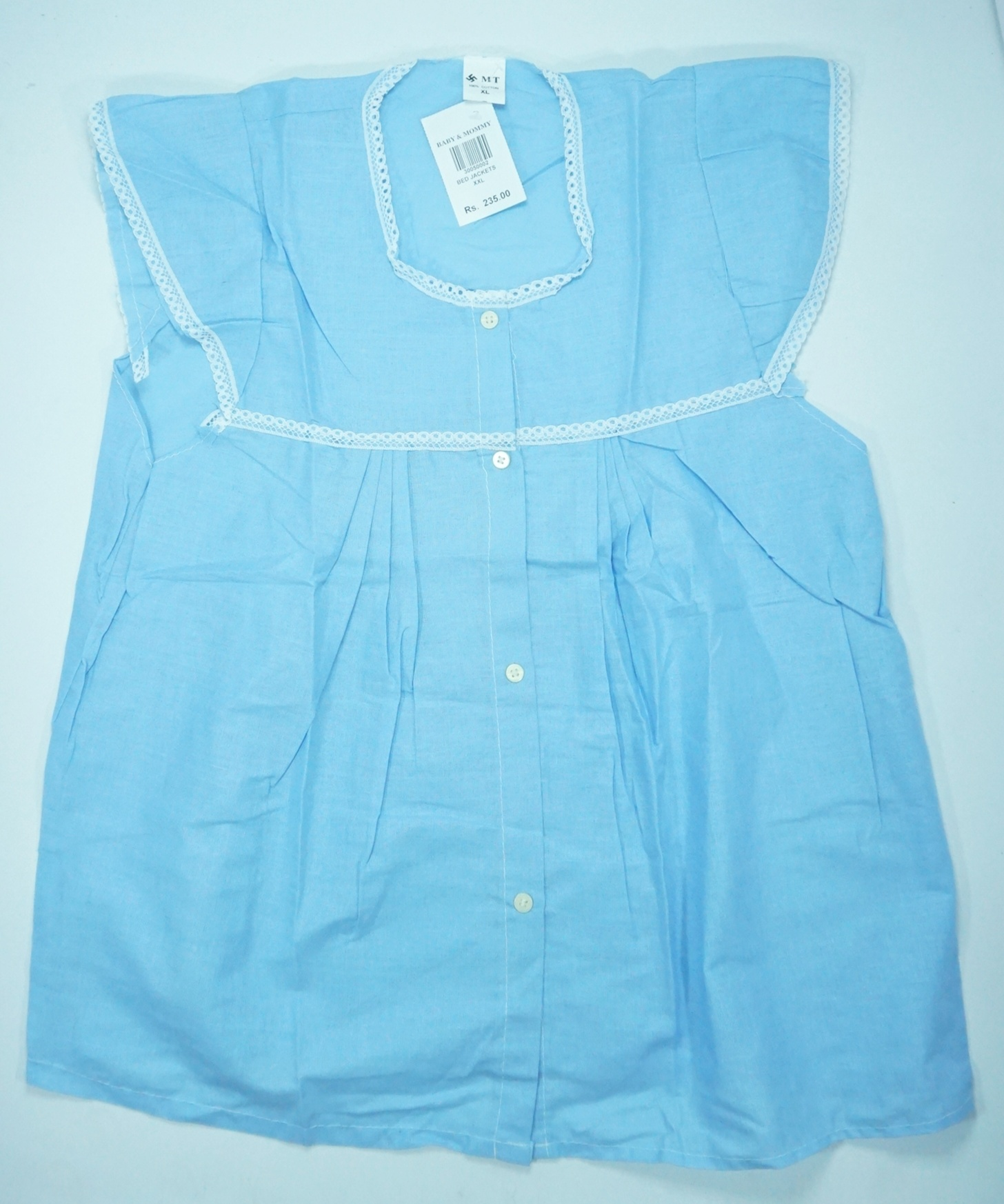 Pregnant Ladies Bed Jacket Poplin Baby Mommy