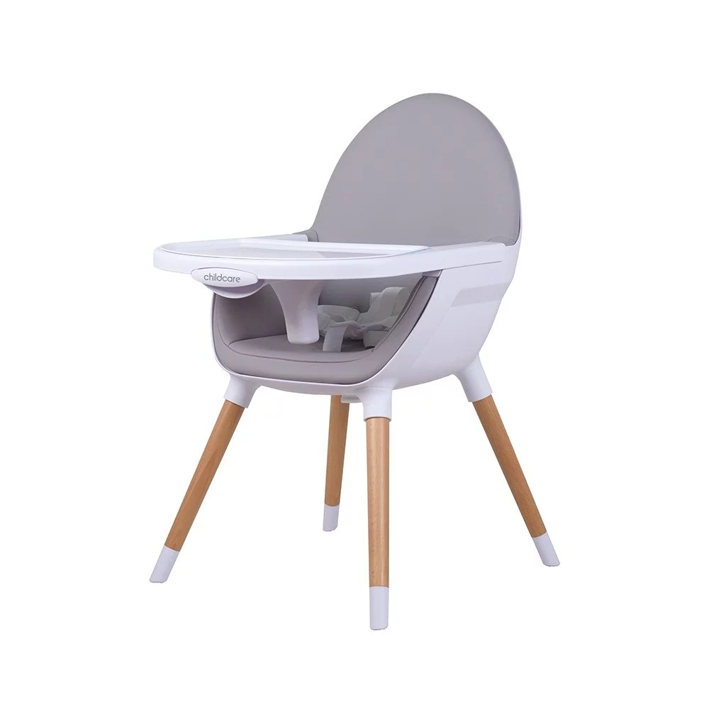 Chair High Chair Childcare Pod Timber High Chair Natural Stock Due August