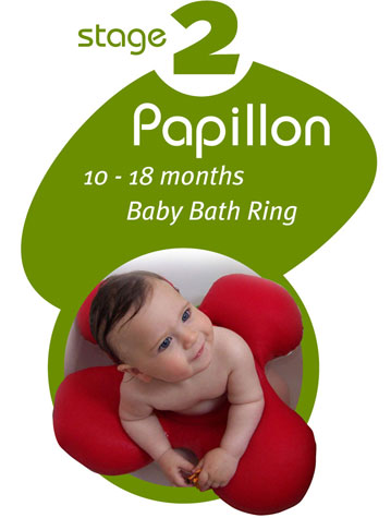 Papillon Baby Bath Ring 10 18 Months Babyanywhere