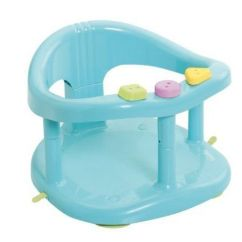 Baby Chair Bath Scoop Back Dining Room Chairs Finding The Best Seat For Your Little One Time Babymoov A022001 With Ring Aqua Blue