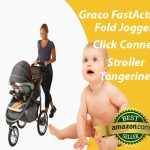 Graco FastAction Fold Jogger Click Connect Stroller Tangerine