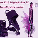 Britax 2017 B-Agile/B-Safe 35 Travel System stroller Review