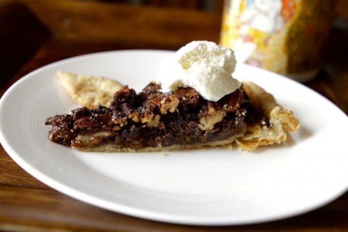 Chocolate Espresso Pecan Pie Recipe