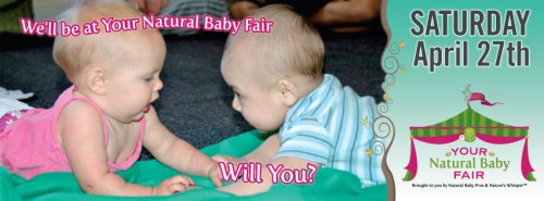 Win 2 tix to Your Natural Baby Fair --Free
