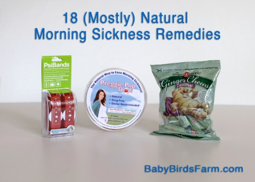 18 (Mostly) Natural Morning Sickness Remedies