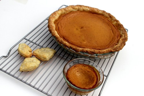 Real Pumpkin Pie - gluten free option