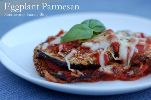 Baked Eggplant Parmesan : an easy family dinner that will please ...
