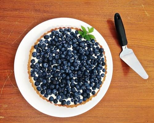 Blueberry Marscapone Tart
