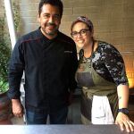 Tijuana chef, Javier Plascencia, and Bracero chef de cuisine Claudette Zepeda-Wilkins.