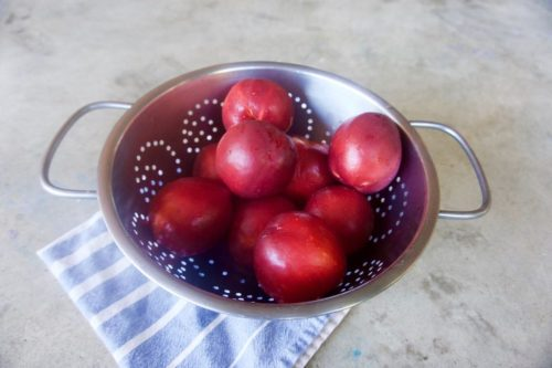 Carmen Miranda nectarines