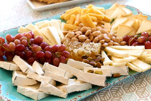 Cheese plate by Baby Birds Farm