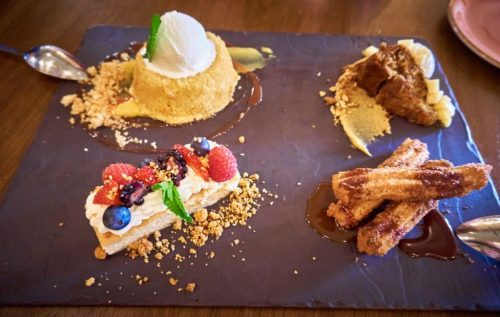 Mexican Desserts at Red O Restaurant