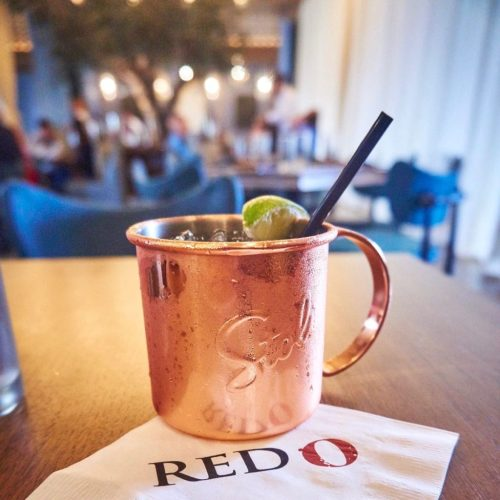 Red O Restaurant - Moscow Mule