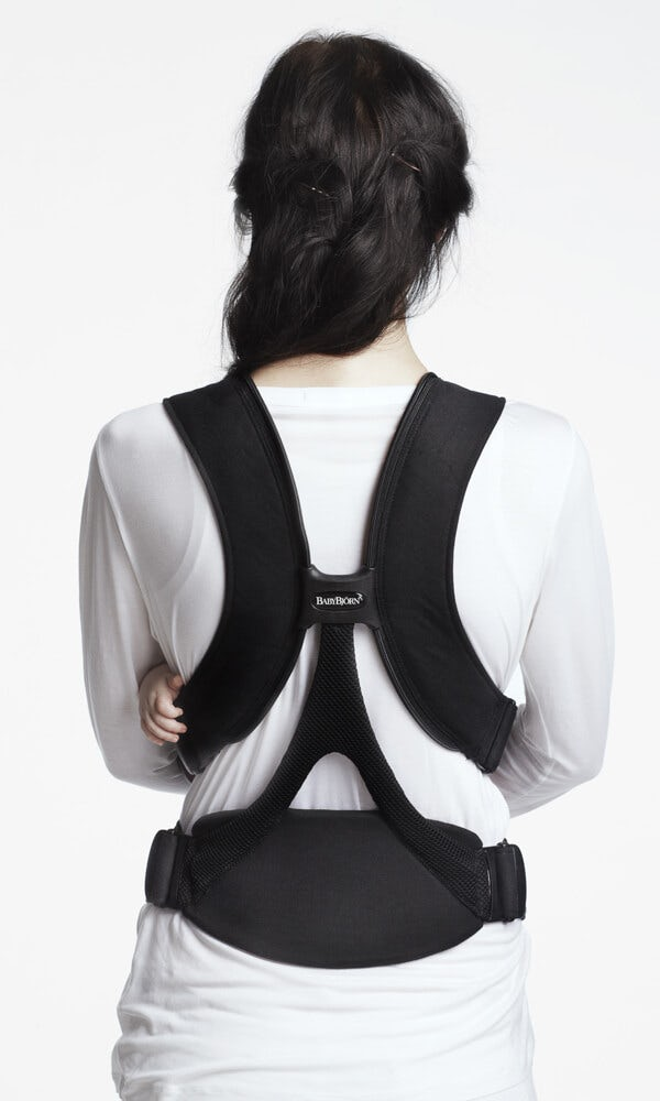 baby chair carrier oval dining miracle comfy back support babybjorn