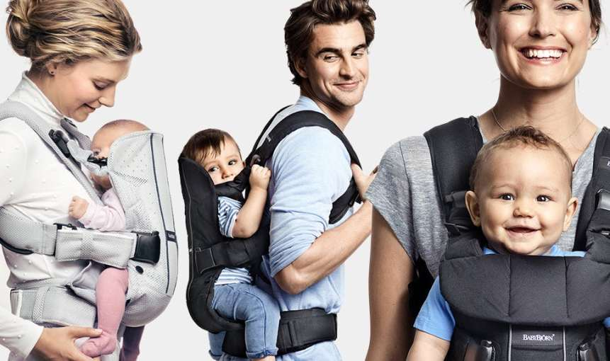 all about babywearing