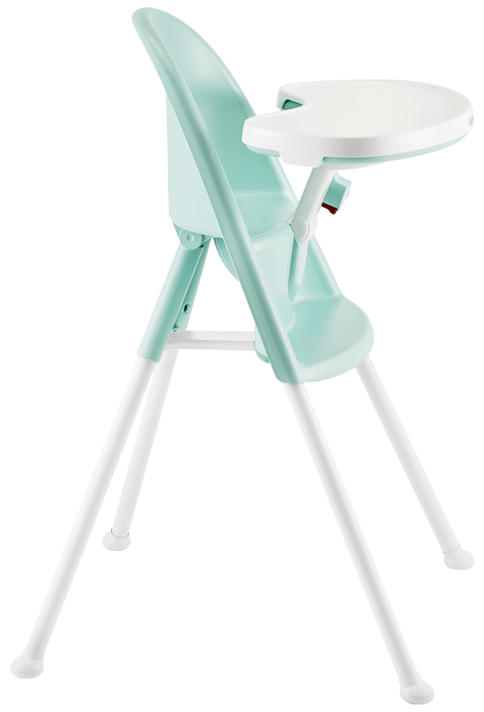 Infant high chair  safe  smart design  BABYBJRN