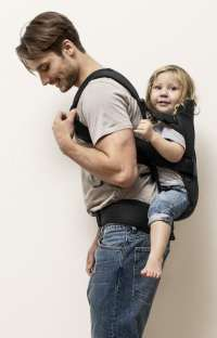 Baby Carrier We  Carry child on back | BABYBJRN