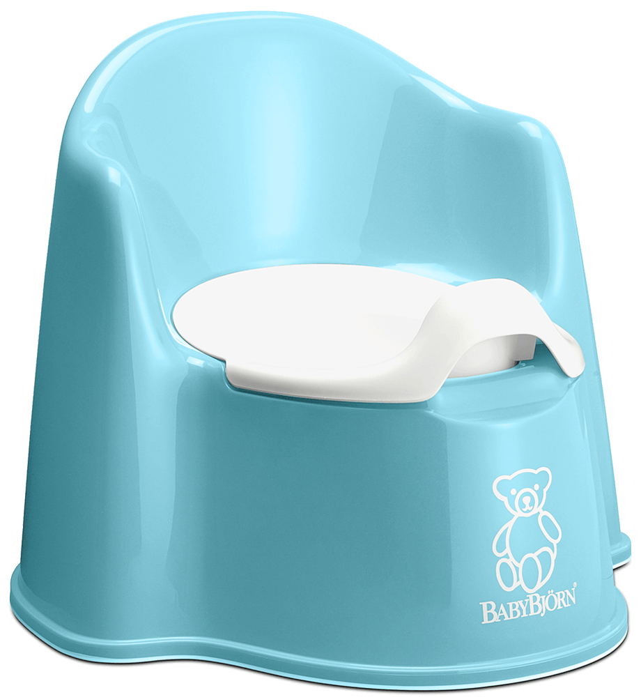 Comfortable potty chair with backrest  BABYBJRN