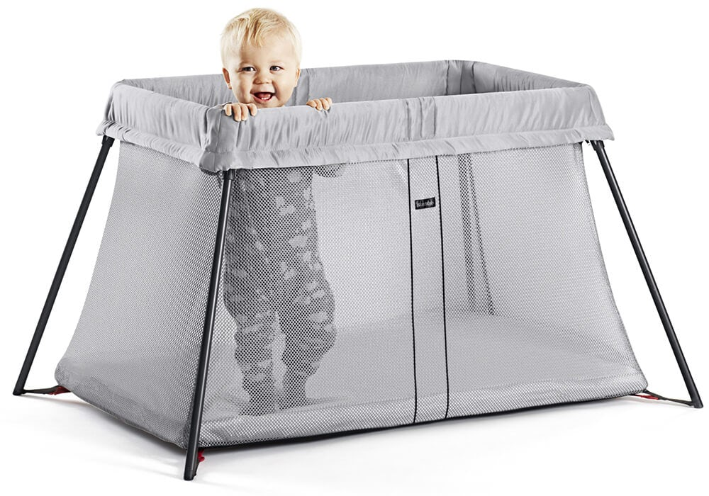 Travel Cot Light  perfect at home  away  BABYBJRN