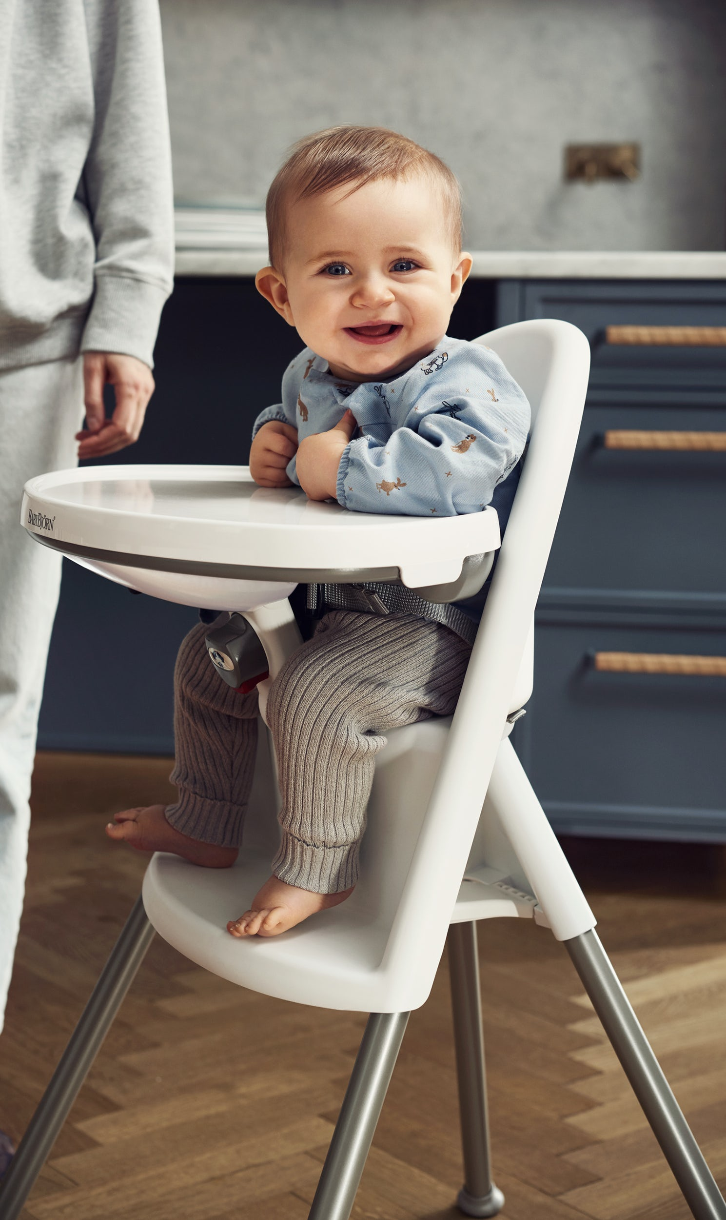 Egg Baby High Chair Infant High Chair Safe Smart Design BabybjÖrn