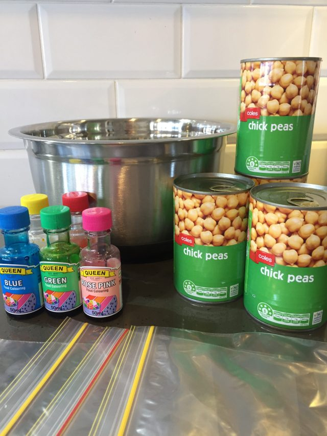 Chickpea Sensory Play: For Babies And Toddlers | Baby ...