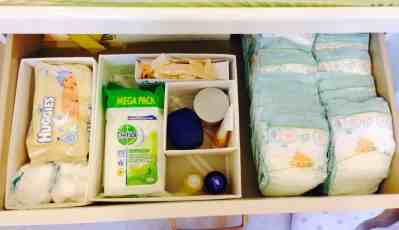 Baby Room Organisation! … Drawers & Closets!
