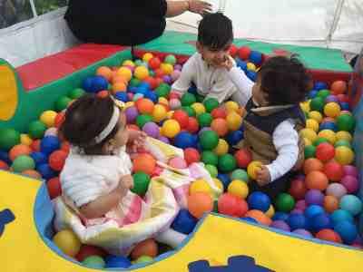 Baby Brain Weekly Memoir … 15th May …Arjun the Social Butterfly!
