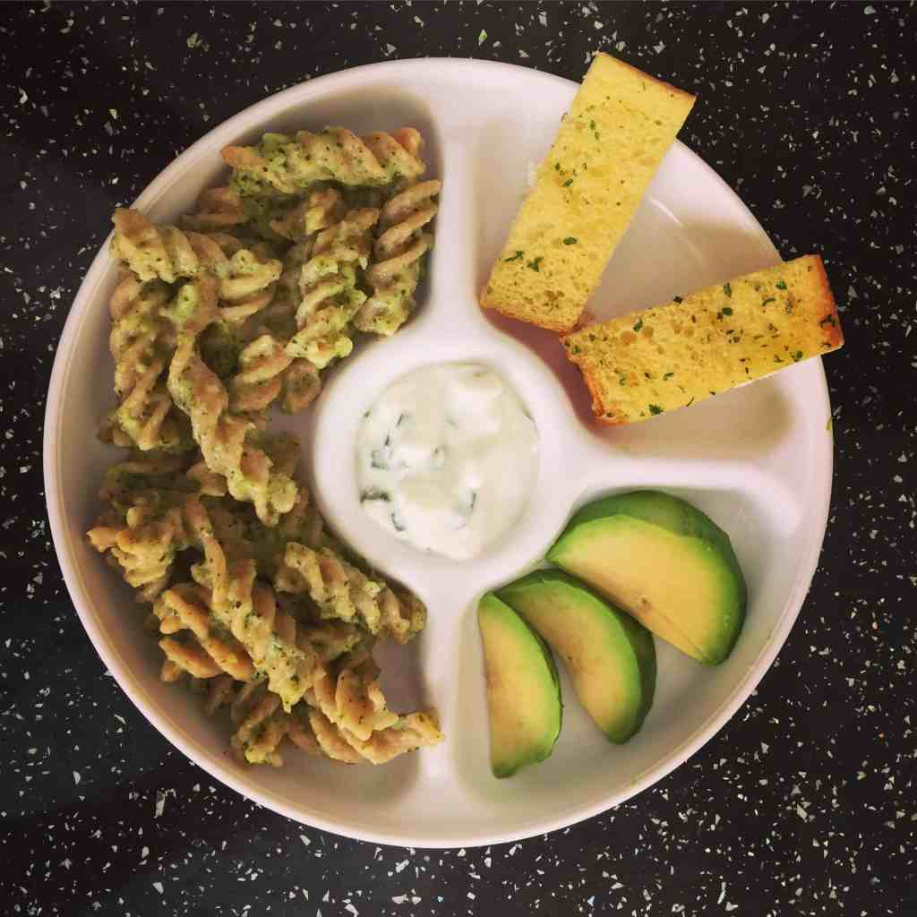 Cheesy Greens Pasta Recipe – Baby Led Weaning