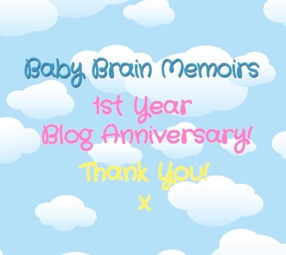 My 1 Year Blog Anniversary!