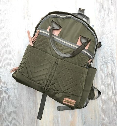 Skip Hop Suite Olive Backpack/Change Bag | Review