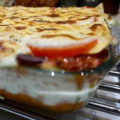 Veggie Mince Deep Dish Lasagne Recipe With Asda