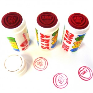 loveheart stamp