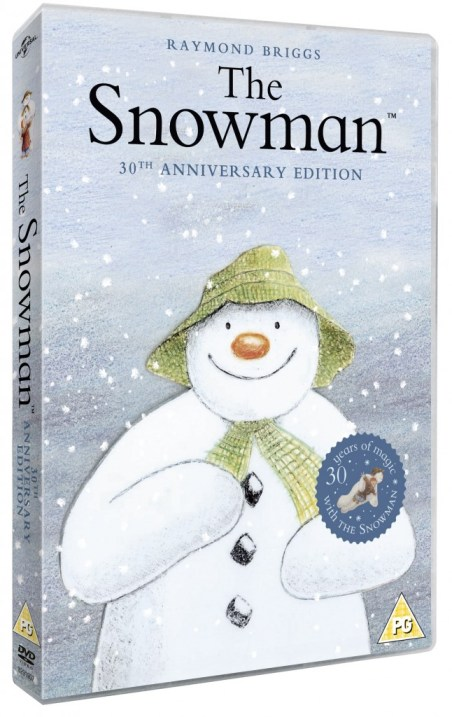 The snowman dvd competition
